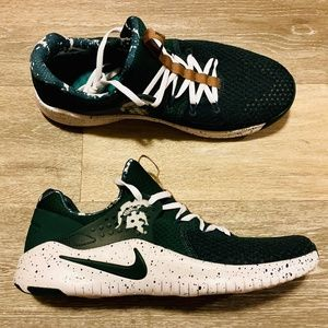 Nike Free TR V8 Michigan State Spartans Green
